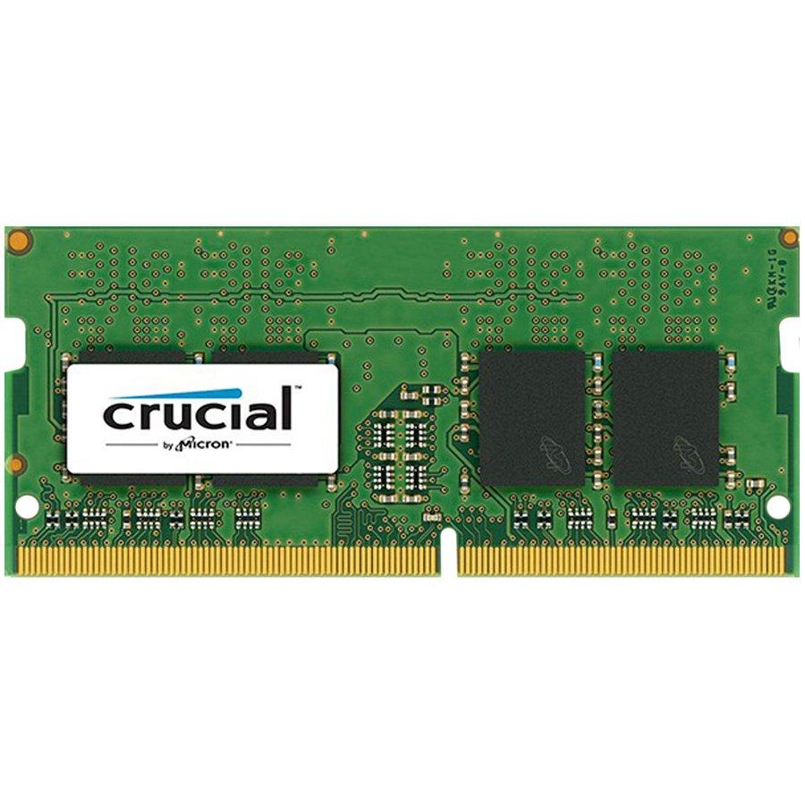 Memory ( Mobile ) CRUCIAL CT4G4SFS8213 Crucial DRAM 4GB DDR4 2133 MT/s (PC4-17000) CL15 SR x8 Unbuffered SODIMM 260pin, EAN: 649528768360
