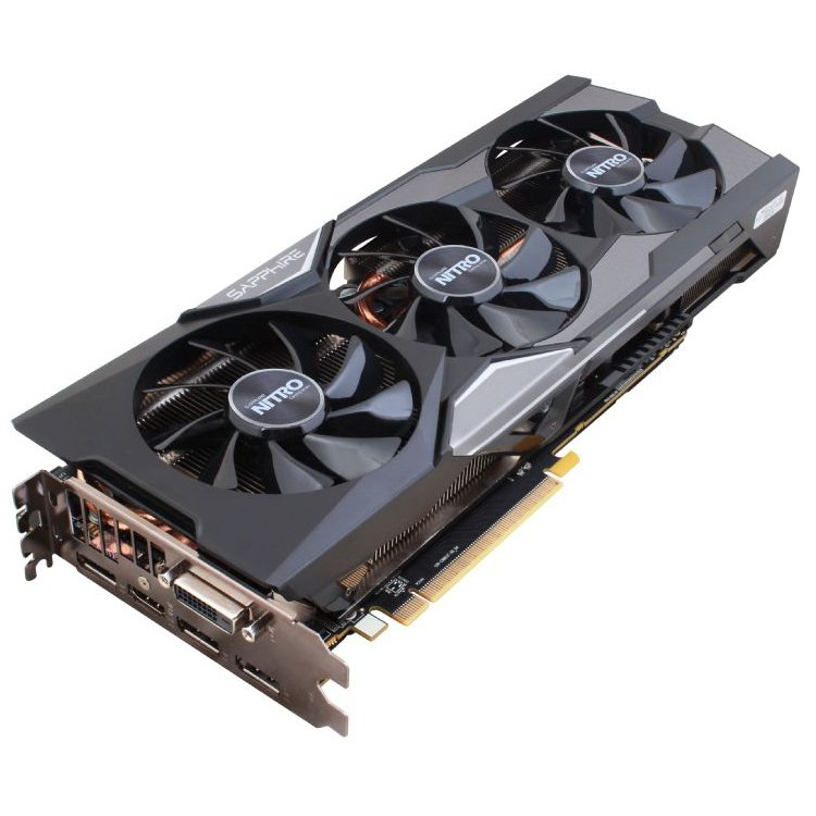 Video Card SAPPHIRE 11247-04-40G SAPPHIRE Video Card AMD Radeon R9 FURY NITRO HBM 4GB/4096bit, 1020MHz/1000MHz, PCI-E 3.0 x16, HDMI, DVI-D, 3xDP, TRI-X Cooler(Double Slot), Full Retail