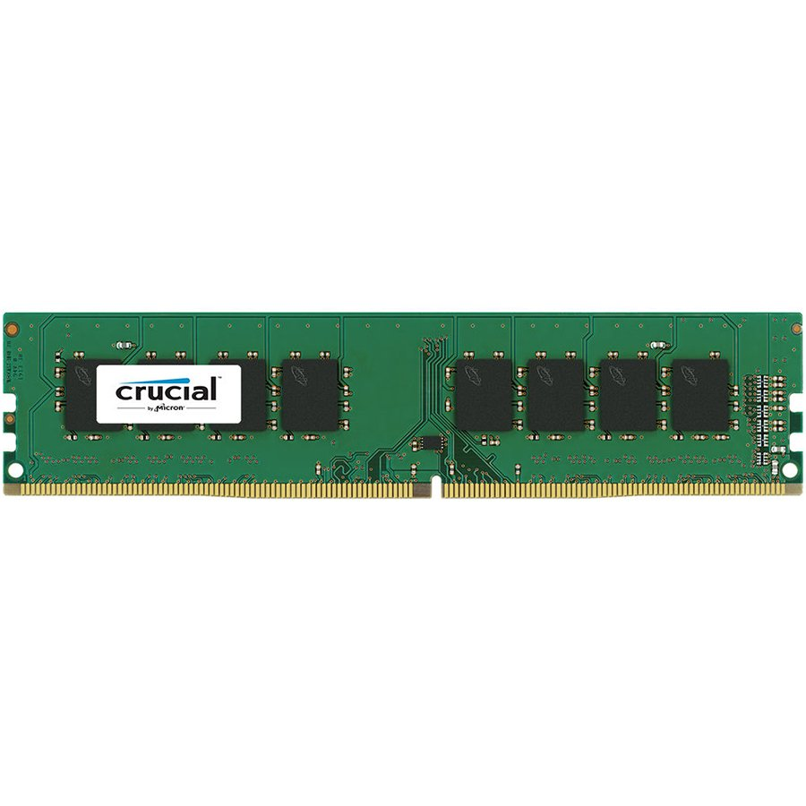 Memory ( Desktop ) CRUCIAL CT16G4DFD824A Crucial DRAM 16GB DDR4 2400 MT/s (PC4-19200) CL17 DR x8 Unbuffered DIMM 288pin, EAN: 649528773500