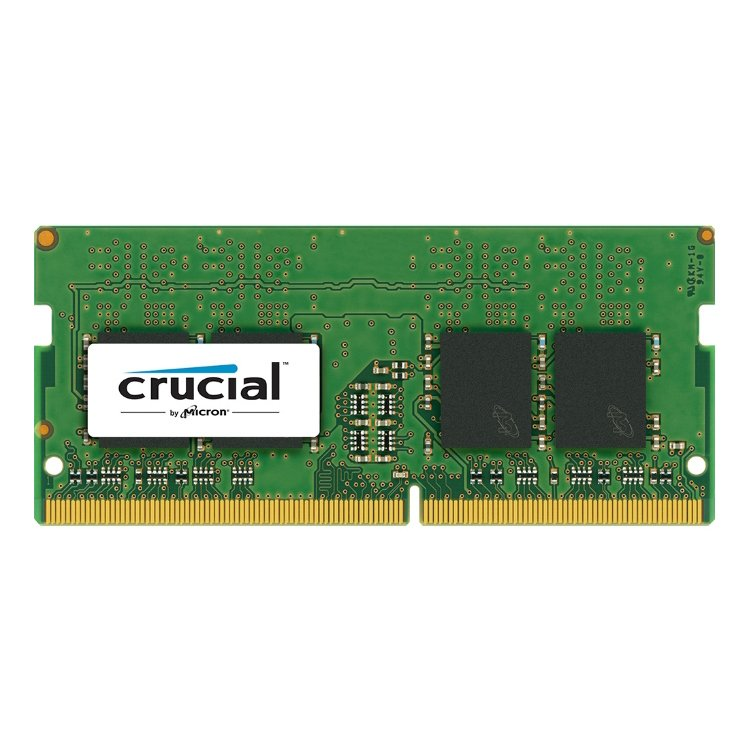 Memory ( Mobile ) CRUCIAL CT8G4SFS824A Crucial DRAM 8GB DDR4 2400 MT/s (PC4-19200) CL17 SR x8 Unbuffered SODIMM 260pin Single Ranked, EAN: 649528776334