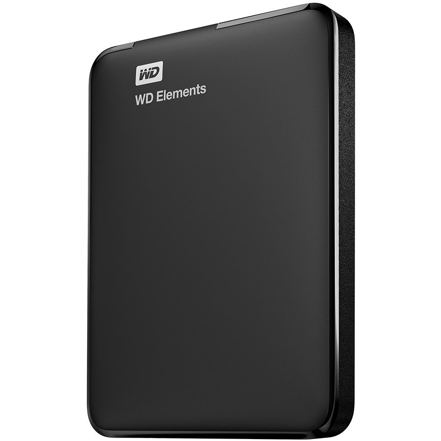 HDD External WESTERN DIGITAL WDBU6Y0030BBK-EESN WESTERN DIGITAL HDD External Elements Portable (2.5'', 3TB, USB 3.0) Black