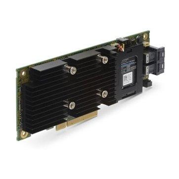 Controller ( RAID ) DELL EMC 405-AADW-14 DELL PERC H330 Storage RAID Controller Card, PCIe 3.0 x8, Full Height,SATA 6Gb/s / SAS 12Gb/s, 1.2Gbps, 8 Ch, RAID 0, RAID 1, RAID 5, RAID 10, RAID 50; CPU:LSISAS3008, 2 x SATA 6Gb/s / SAS 12Gb/s - 36 pin 4x Mini S