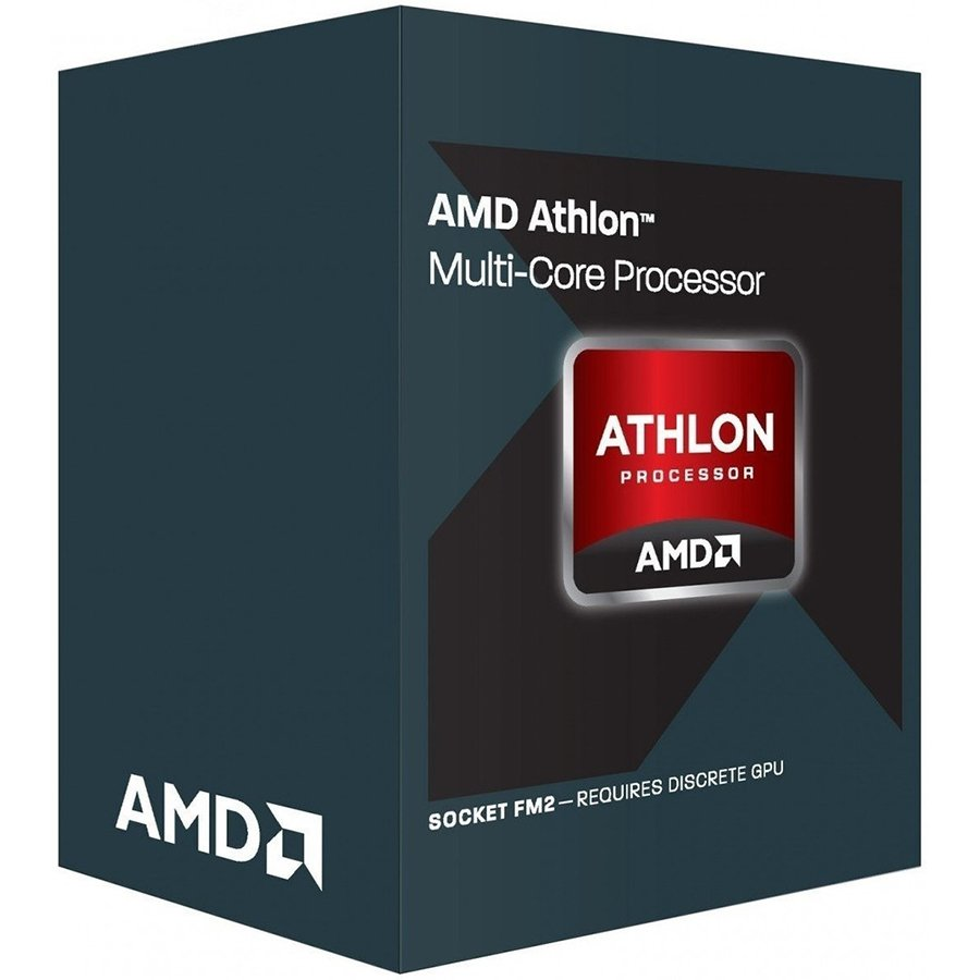 CPU Desktop AMD AD845XACKASBX AMD CPU Carrizo Athlon X4 845 (3.5/3.8GHz Boost,4MB,65W,FM2+, with silent cooler) box