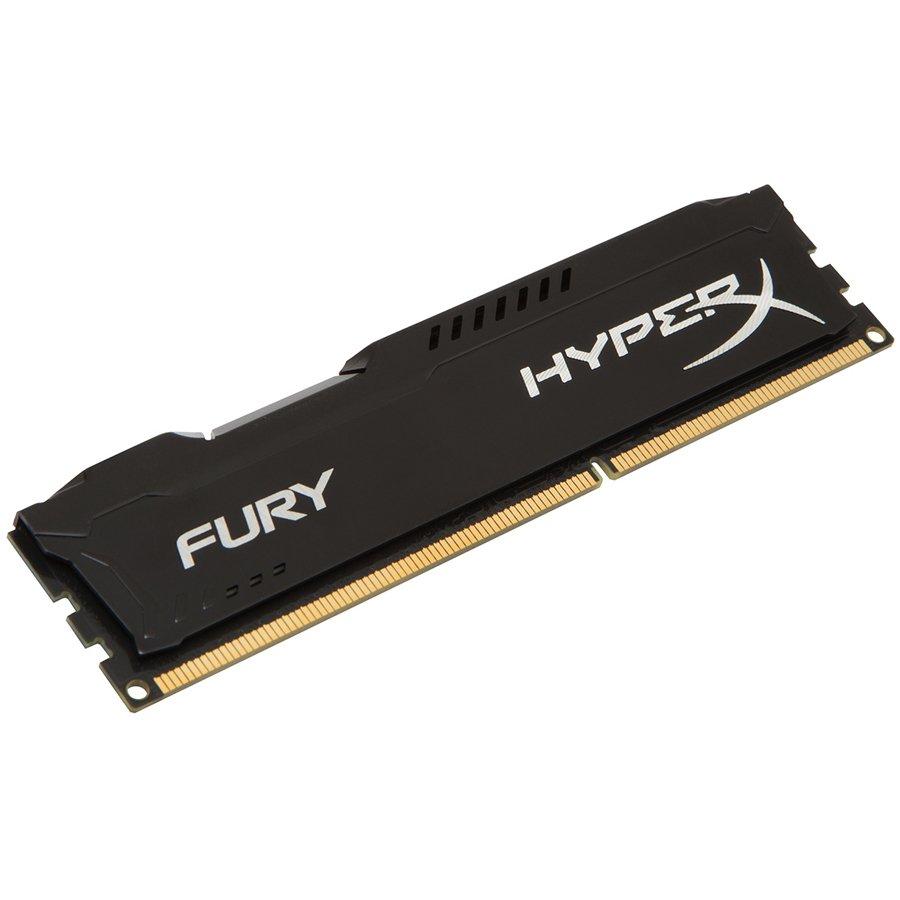 Memory ( Desktop ) KINGSTON HX424C15FB2/8 Kingston  8GB 2400MHz DDR4 CL15 DIMM HyperX FURY Black, EAN: '740617256550