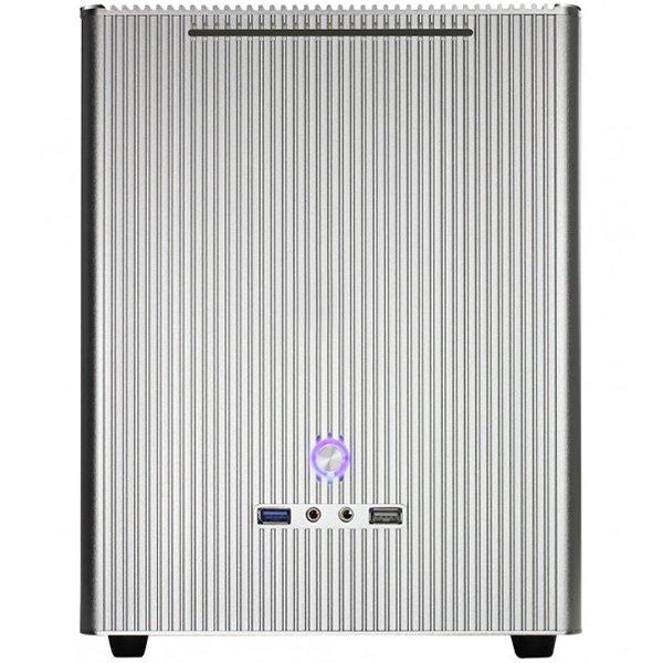PC Chassis E-MINI CASEMM5S E-mini M5 Silver No PSU, Mini-ITX