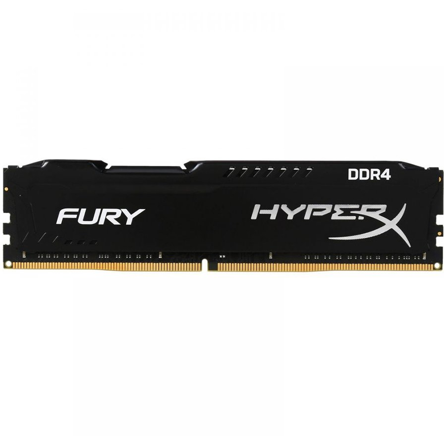 Memory ( Desktop ) KINGSTON HX424C15FB/16 Kingston  16GB 2400MHz DDR4 CL15 DIMM HyperX FURY Black, EAN: '740617256611