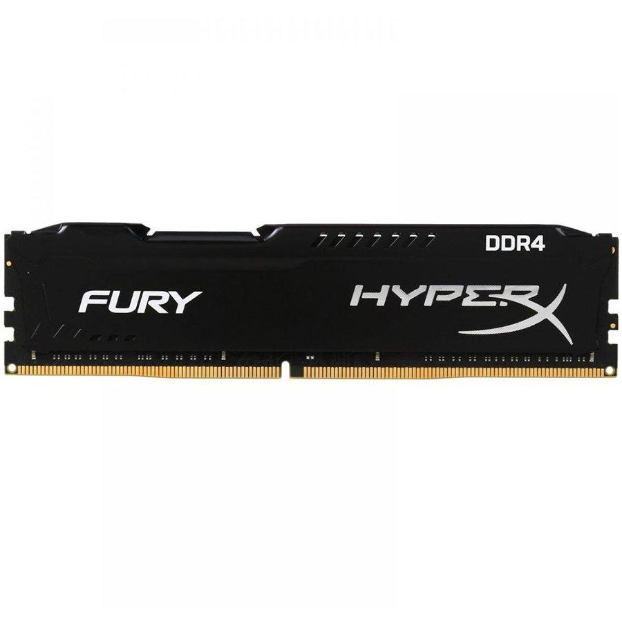 Memory ( Desktop ) KINGSTON HX421C14FB/16 Kingston  16GB 2133MHz DDR4 CL14 DIMM HyperX FURY Black, EAN: '740617256581