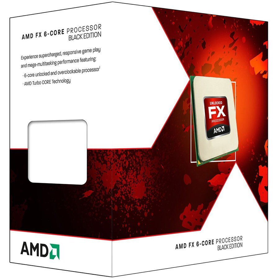 CPU Desktop AMD FD6350FRHKHBX AMD CPU Desktop FX-Series X6 6350 (3.9GHz,14MB,125W,AM3+ with quiet Wraith Cooler) box