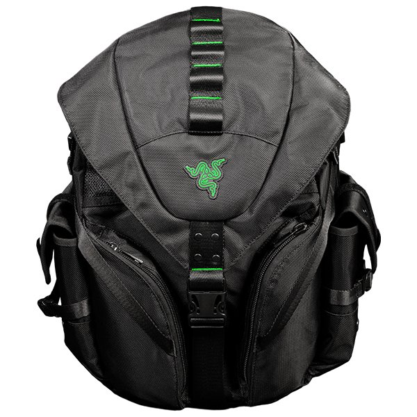 Carrying Case RAZER RC21-00800101-0000 RAZER MERCENARY BACKPACK Made from robust 1680D ballistic nylon,Tear- and water-resistant exterior,TPU padded scratch proof interior.