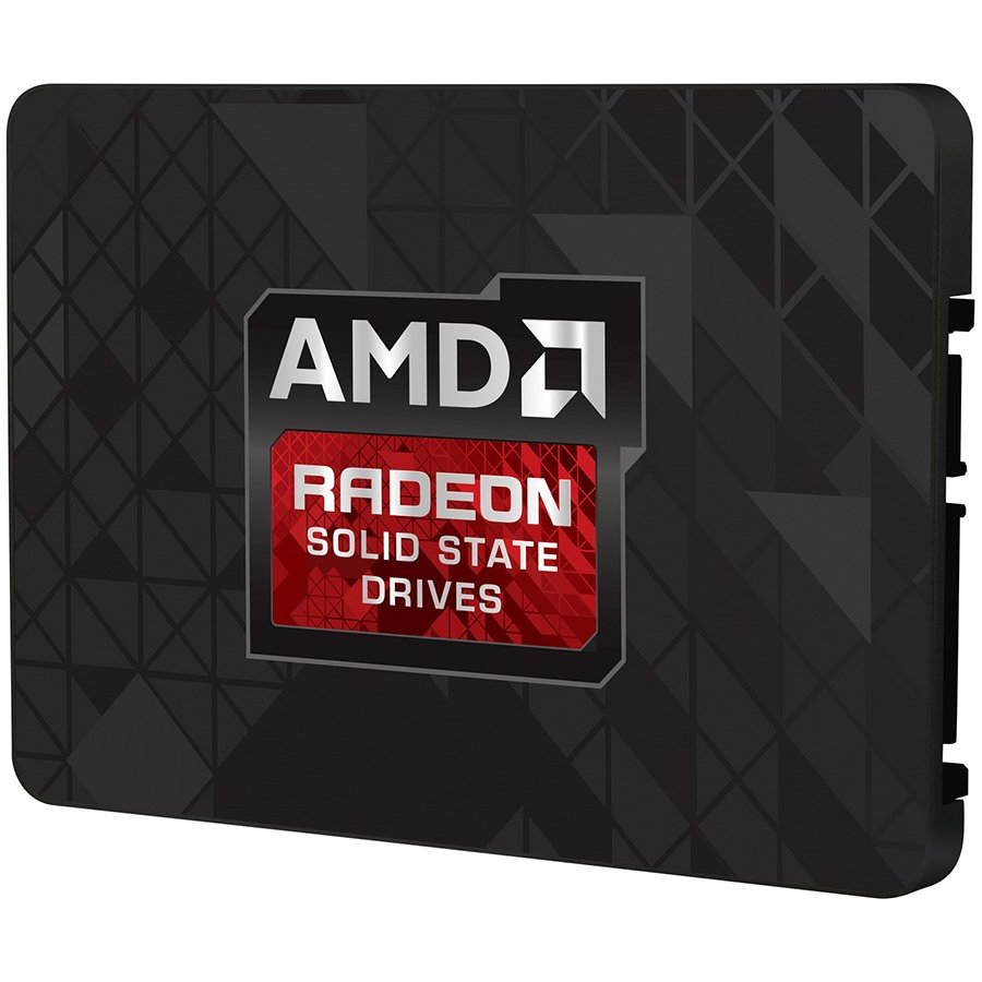 """SSD Client AMD 199-999526 AMD Radeon R3 SATA III 120GB SSD, 2.5"""" 7mm, SATA 6 Gbit/s, Read/Write: 520 MB/s / 360 MB/s, Random Read/Write IOPS 57K/18K, PN# R3SL120G"""