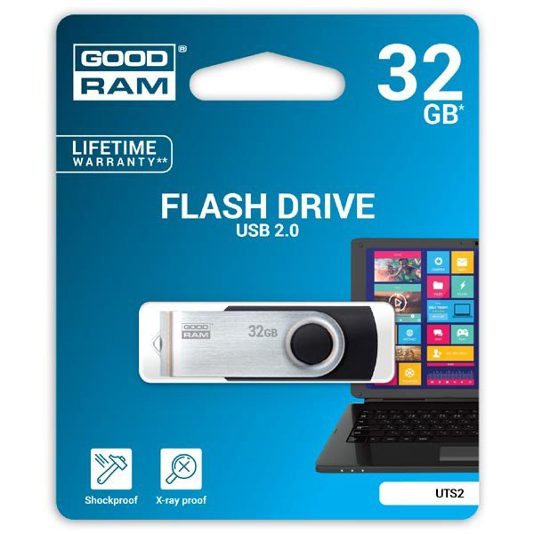 Memory ( USB flash ) GOODRAM UTS2-0320K0R11 GOODRAM 32GB UTS2 BLACK USB 2.0