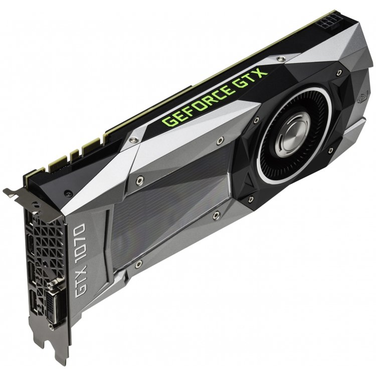 Video Card PALIT 4710636269004 VC Palit nVidia GTX1070 Founders Edition 8GB GDDR5 ,256bit , Dual DVI,HDMI,DP part# NE51070015P2F
