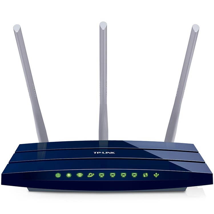 Networking - Router TP-LINK TL-WR1043ND_450 Router TP-Link TL-WR1043ND, 2,4GHz Wireless N 450Mbps, 4 x 10/100/1000Mbps LAN Gigabit Ports, 1 x 10/100/1000Mbps WAN Gigabit Port, 1 x USB 2.0 Port, Detachable Omni DIrectional Antenna 3 x 5dBi (RP-SMA)