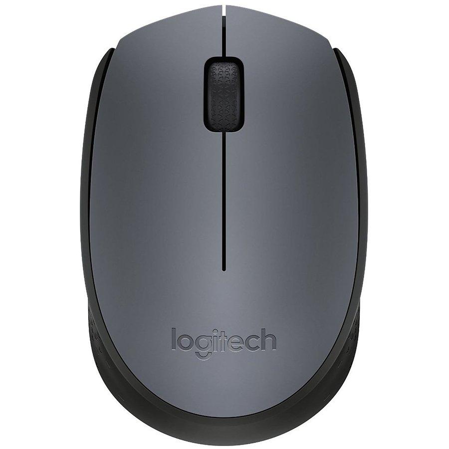 Input Devices - Mouse Box LOGITECH 910-004642 LOGITECH Wireless Mouse M170 - EMEA -  GREY