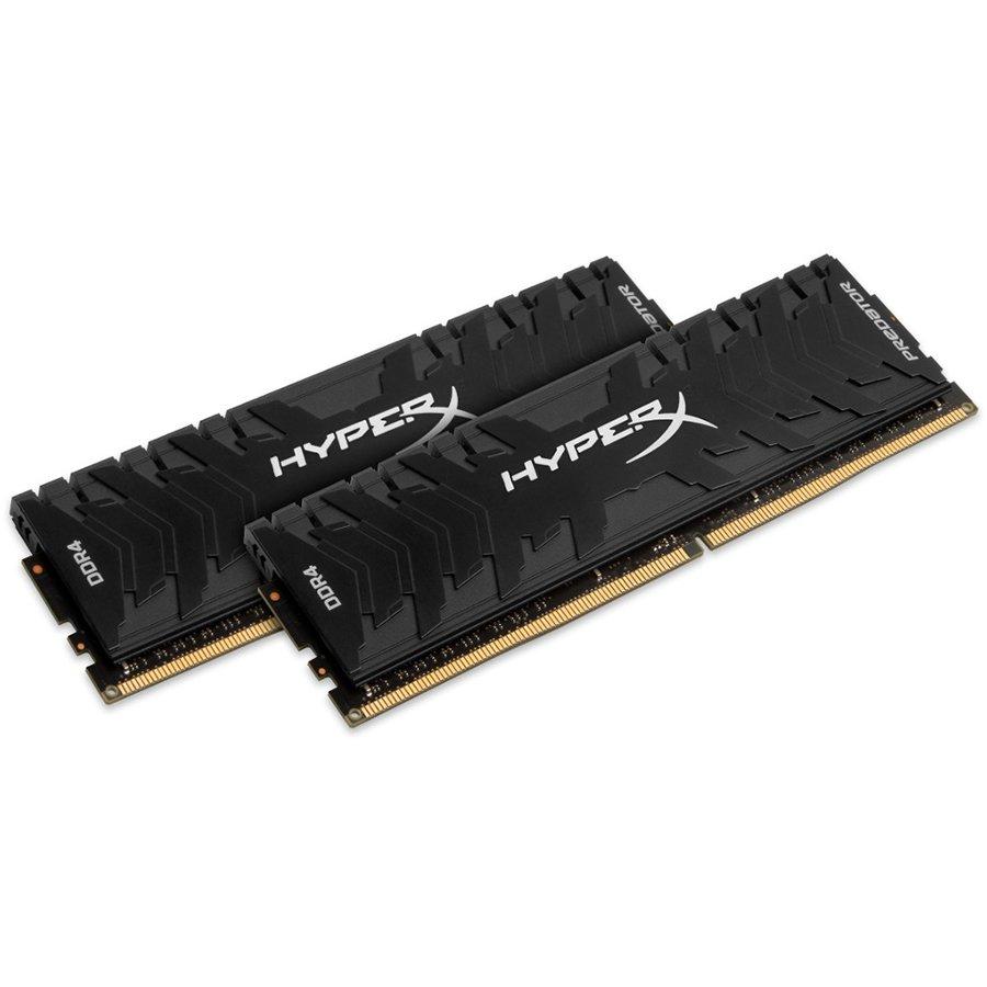 Memory ( Desktop ) KINGSTON HX433C16PB3K2/16 Kingston  16GB 3333MHz DDR4 CL16 DIMM (Kit of 2) XMP HyperX Predator, EAN: '740617258424