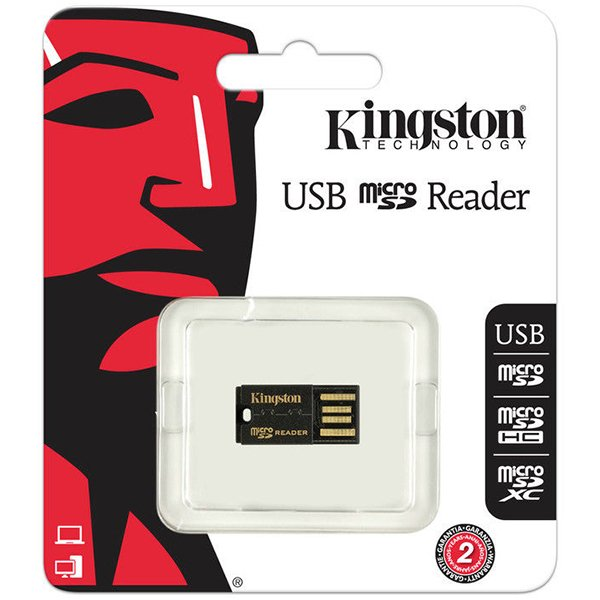 Flash Memory Peripherals KINGSTON FCR-MRG2 Kingston  MicroSD Reader Gen 2 (USB 2.0), EAN: '740617152326