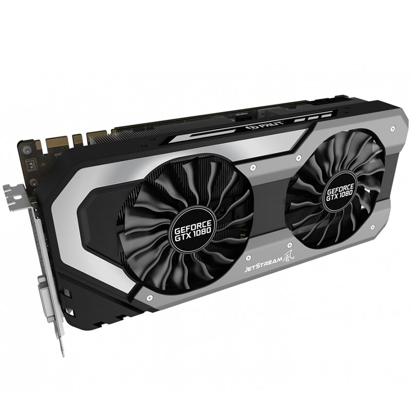 Video Card PALIT 4710636269042 VC Palit nVidia GTX 1080 Jetstream 8GB GDDR5X, 256bit, Dual DVI, HDMI, DPx3 part# NEB1080015P2J