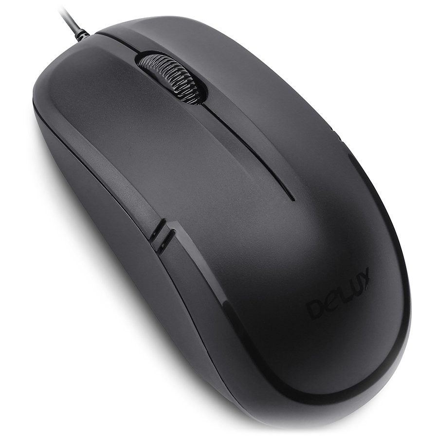 Input Devices - Mouse Box DELUX DLM-M136GX Input Devices - Mouse DELUX DLM-M136GX 2.4GHz wireless Black