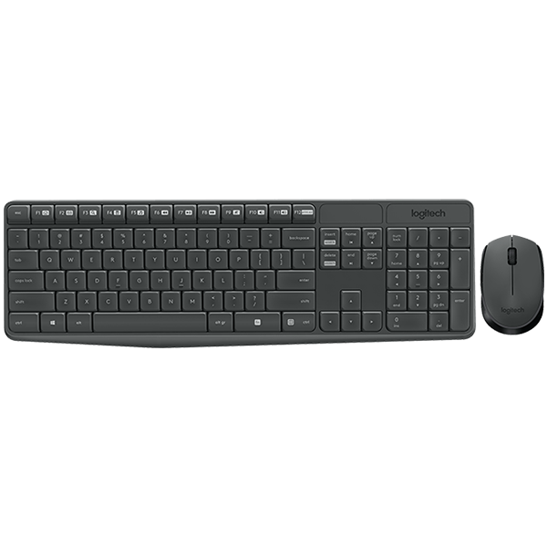 Input Devices - Keyboard Box LOGITECH 920-008024 LOGITECH Wireless Combo MK235 - INTNL - Bulgarian Layout