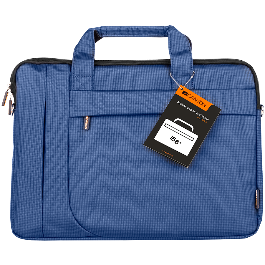 """Carrying Case CANYON CNE-CB5BL3 CANYON Fashion toploader Bag for 15.6"""" laptop, Blue"""