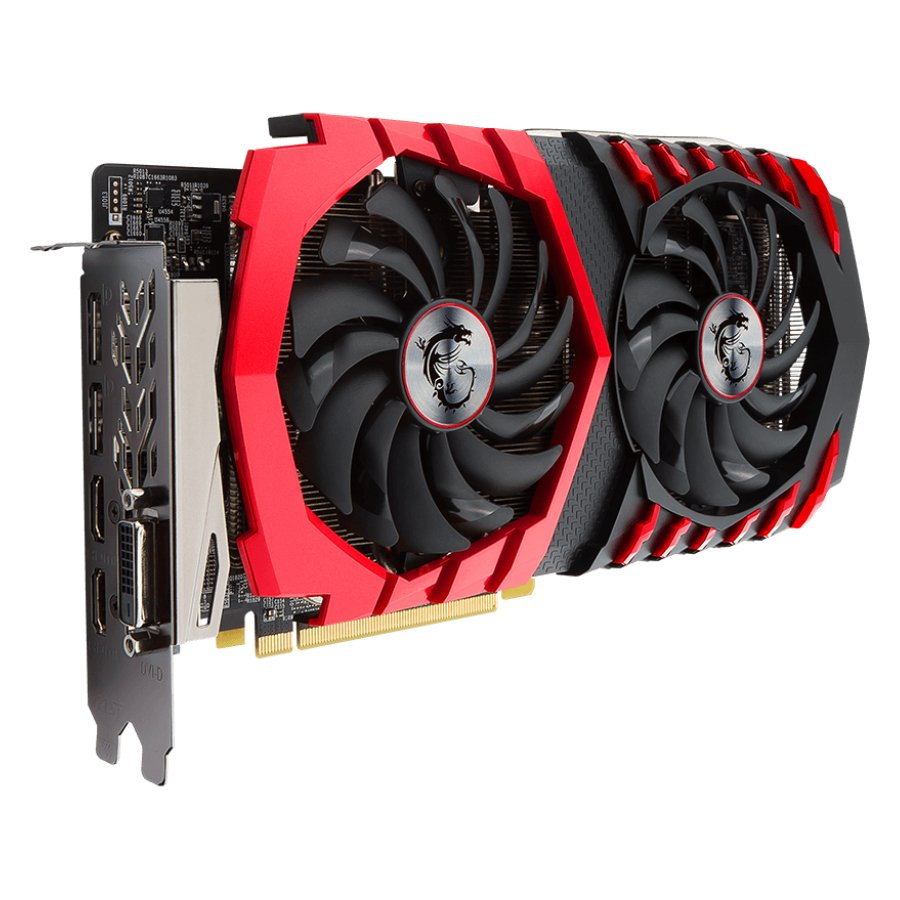 Video Card MSI RX_470_GAMING_X_8G MSI Video Card AMD Radeon RX 470 GAMING X GDDR5 8GB/256bit, 1242MHz/6600MHz, PCI-E 3.0 x16, 2xDP, 2xHDMI, DVI-D, Twin Frozr VI Cooler LED(Double Slot) Retail