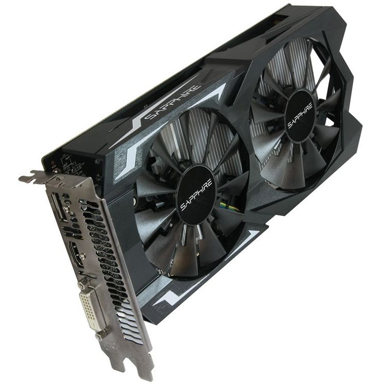 Video Card SAPPHIRE 11257-00-20G SAPPHIRE Video Card AMD Radeon RX 460 NITRO GDDR5 2GB/128bit, 1210MHz/1750MHz, PCI-E 3.0 x16, HDMI, DVI-D, Dual-X Cooler(Double Slot), Lite Retail