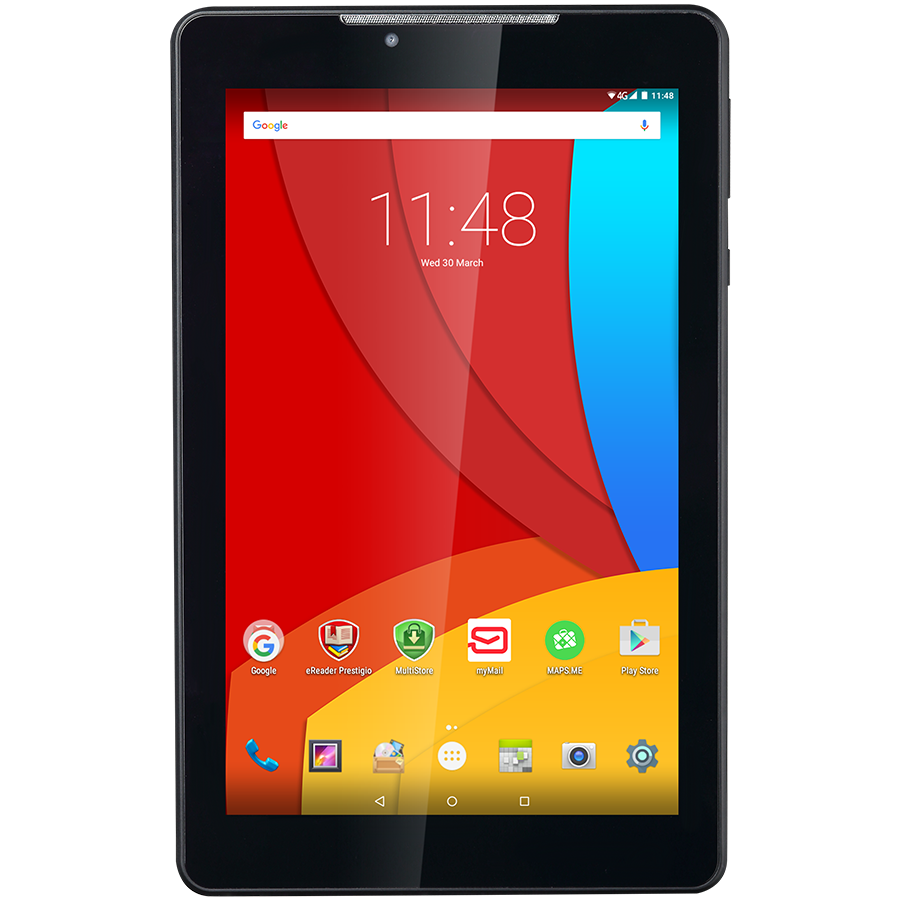 PC Tablet PRESTIGIO PMT3777_3G_D MULTIPAD COLOR 2 3G,PMT3777_3G_D,Single Standard-SIM,No call function,7''WXGA(800×1280)IPS display,up to 1.1GHz Quad core processor,android 5.1,1/1.5GB RAM+16GB ROM,0.3MP front camera,2MP rear camera,2800mAh battery.