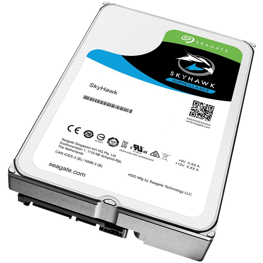 "HDD Video Surveillance SEAGATE ST4000VX007 SEAGATE HDD Desktop SkyHawk Guardian Surveillance (3.5""/4TB/SATA 6Gb/s/rpm 5900)"