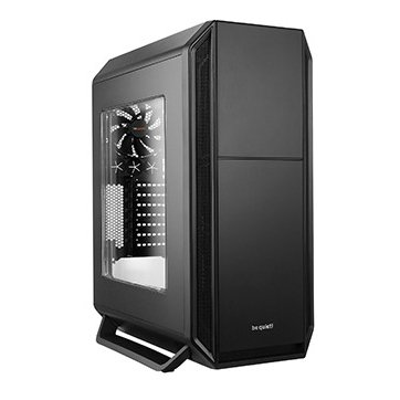 PC Chassis BE QUIET BGW02 be quiet! SILENT BASE 800 Black with Window