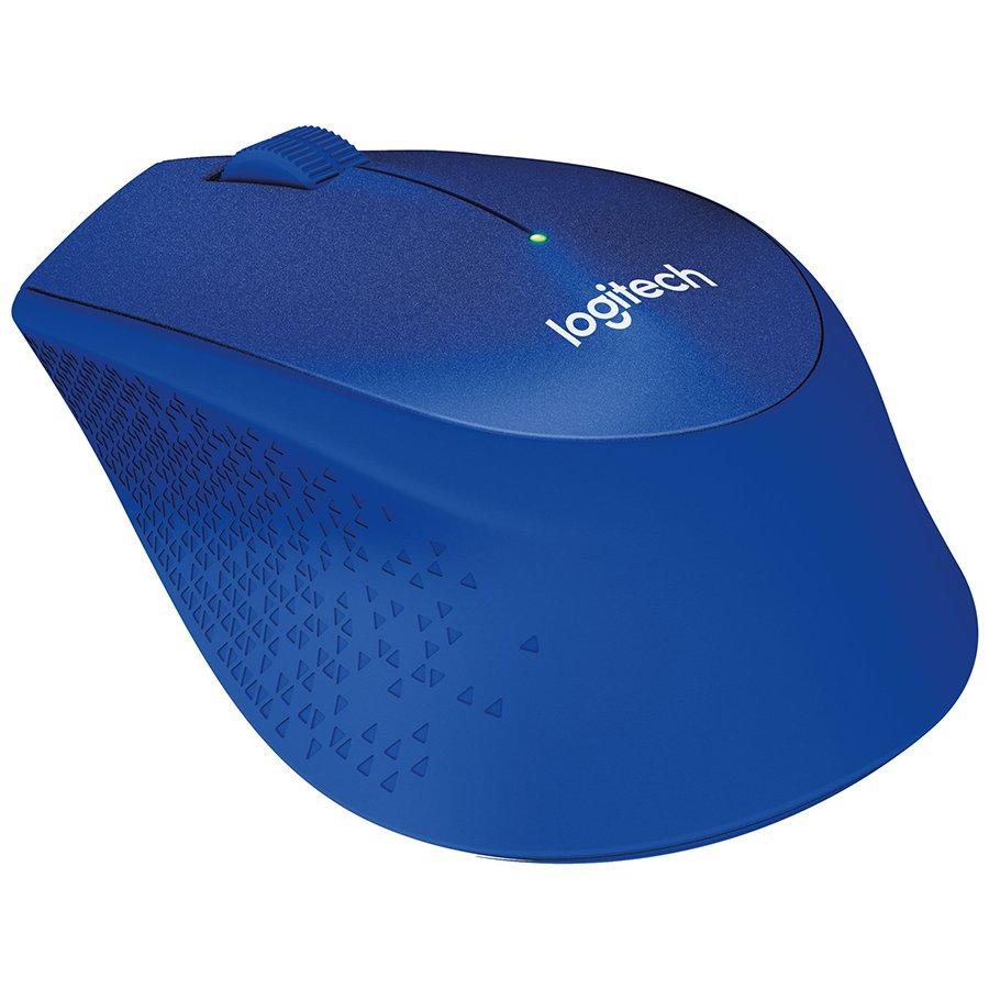 Input Devices - Mouse Box LOGITECH 910-004910 LOGITECH Wireless Mouse M330 SILENT PLUS - EMEA - BLUE