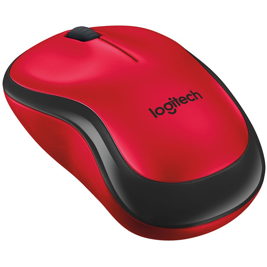 Input Devices - Mouse Box LOGITECH 910-004880 LOGITECH Wireless Mouse M220 SILENT - EMEA - RED