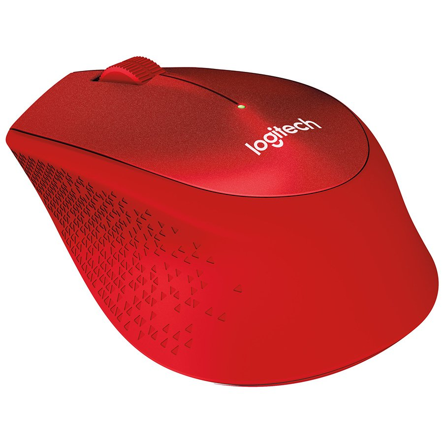 Input Devices - Mouse Box LOGITECH 910-004911 LOGITECH Wireless Mouse M330 SILENT PLUS - EMEA - RED