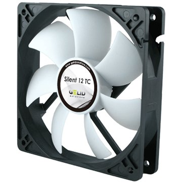 Cooling System GELID SOLUTIONS FN-TX12-15 GELID Silent 12 TC 120mm TC fan-1500 RPM max 12-25.5 dBA
