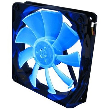 Cooling System GELID SOLUTIONS FN-FW12B-15-A GELID Slim 12 PL Blue 120mmx15.8mm Slim PWM Fan with 4 Blue LED