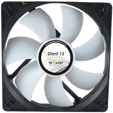 Cooling System GELID SOLUTIONS FN-SX12-10 GELID Silent 12 120mm low noise fan-1000 RPM 20.2 dBA