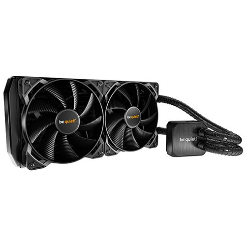 Cooling System BE QUIET BW003 be quiet! SILENT LOOP 280mm liquid cooling, Intel: LGA 775 / 1150 / 1151 / 1155 / 1156 / 1366 / 2011(-3) Square ILM, AMD: AMD: AM2(+) / AM3(+) / FM1 / FM2(+), TDP 400W, 2x Pure Wings 2 140mm PWM, 3Y Warranty