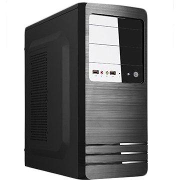 "PC Chassis TRENDSONIC ELEMENT-EM02A-A2-BK/BK/550W/120MM Chassis EM02A-A2, ATX/ MICRO ATX, 7 slots, 2 X 5.25"", 1 X 3.5"" H.D., 2 X 2.5"" SSD, 2 X USB2.0 / 2 x AUDIO /, PSU 550W 12 sm, 20+4pin, 2 x IDE, 3 x SATA, 355*175*405mm, 1 x 80mm Back Black FAN /opt/.,"