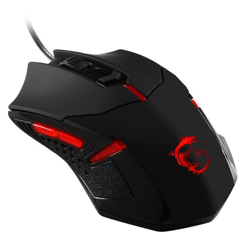 Input Devices - Mouse Box MSI INTERCEPTOR_DS_B1_GAMING Input Devices - Mouse MSI Interceptor DS B1 Gaming (6 btn, DPI up to 1600, USB) Black