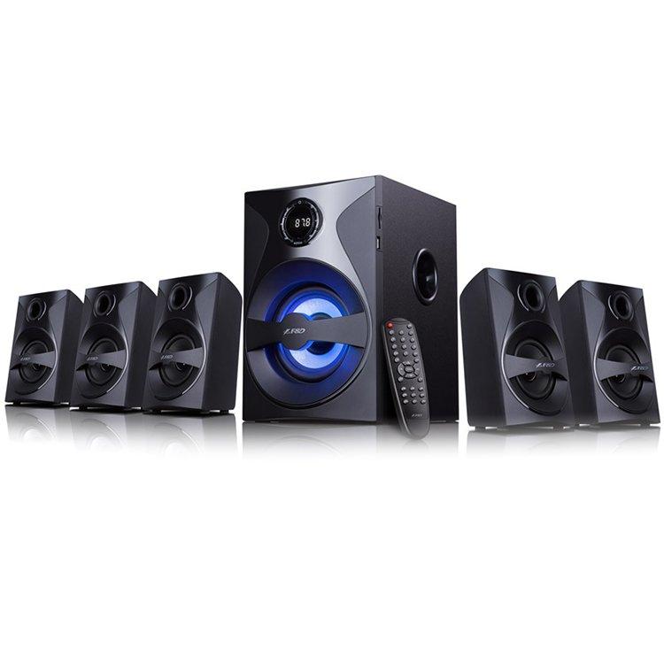 "Multimedia - Speaker FENDA F3800X Multimedia - Speaker F&D F3800X 3"" full range driver for satellites, 5.25"" bass driver for subwoofer, Innovative automatic multi-color LED, BT 4.0, USB/SD card reader, FM, LED Display"