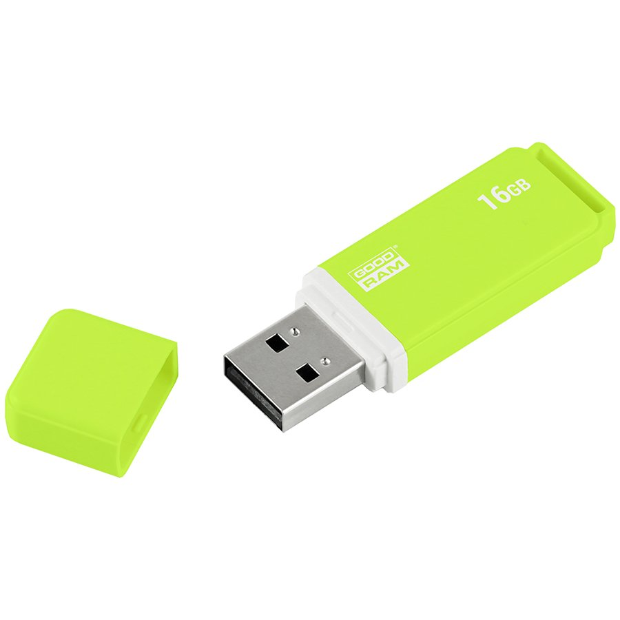 Memory ( USB flash ) GOODRAM UMO2-0160OGR11-G UMO2-0160OGR11; 16GB UMO2 GREEN USB 2.0 GOODRAM