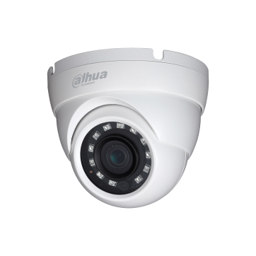 """IP Camera DAHUA ELECTRONIC HAC-HDW2221M Dahua HD-CVI camera 2MPix , Water-proof, Day&Night, 1/2.7"""" CMOS, 1928×1088 Effective Pixels, 25fps@1080P, Focal Length 3.6mm, 0.03Lux/F2.0, 0Lux IR on, IP67, outdoor installation."""