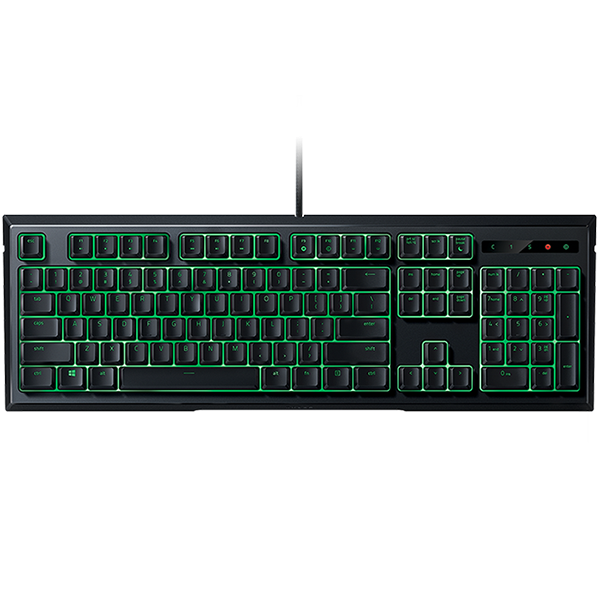 Input Devices - Keyboard Box RAZER RZ03-02041700-R3M1 Razer Ornata - Expert Membrane Gaming Keyboard,All-New Razer™ Mecha-Membrane, Mid-Height Keycaps For Faster Actuations,Individually Backlit Keys With Dynamic Lighting Effects, Ergonomic Wrist Rest For