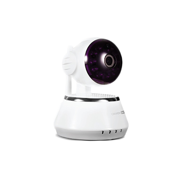 Smart IP Camera Indoor CANYON CNSS-CM1W HD IP Camera Indoor surveillance HD camera with wide-angle rotation, white