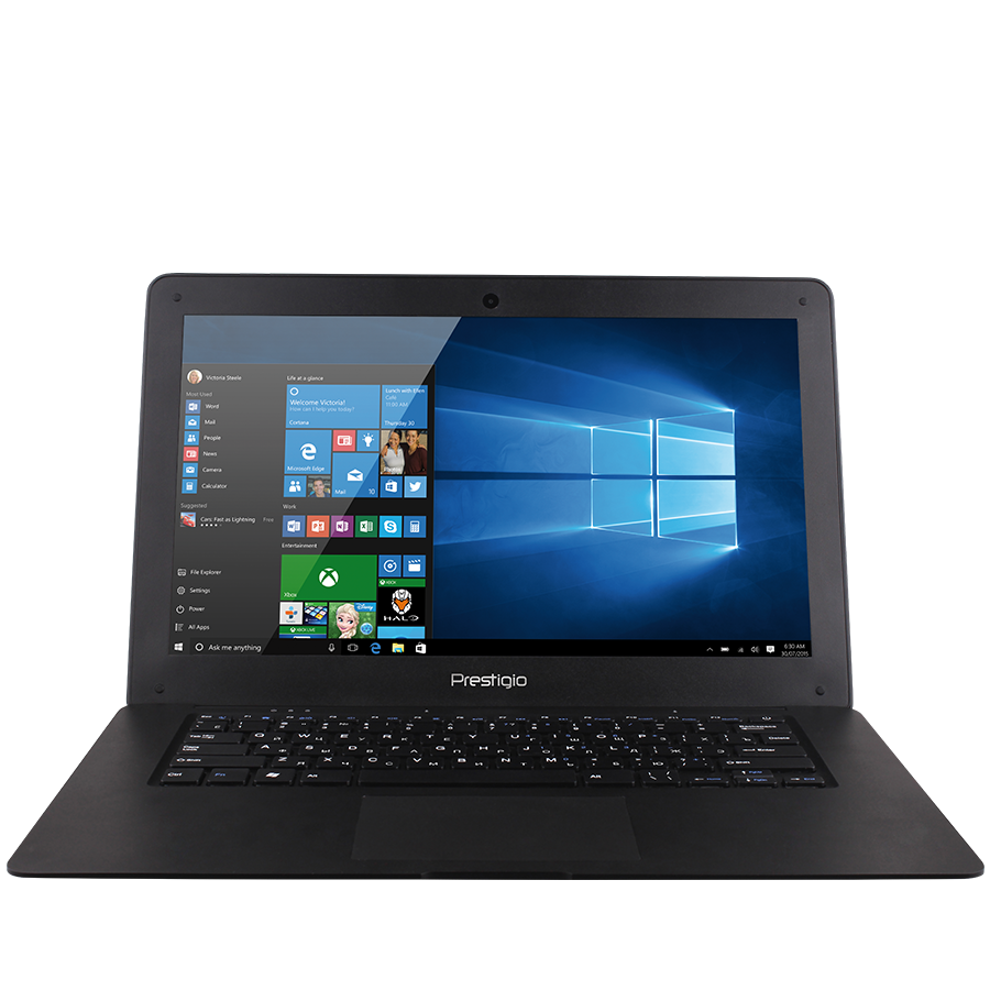 "PC Notebook Consumer PRESTIGIO PSB141A03BFW_MB_BG Prestigio SmartBook 141A03, 14.1""(1366*768) TN display, Intel Z3735F, 2GB DDR, 32GB Flash, BT, WI-FI, 2,0MP Front Camera, EN+BG keyboard, color/black"