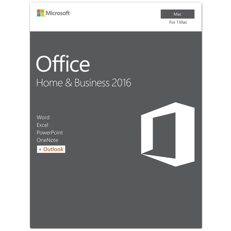 Box Office applications MICROSOFT GZA-00873 Office Mac Home Student 2016 English EuroZone Medialess P2