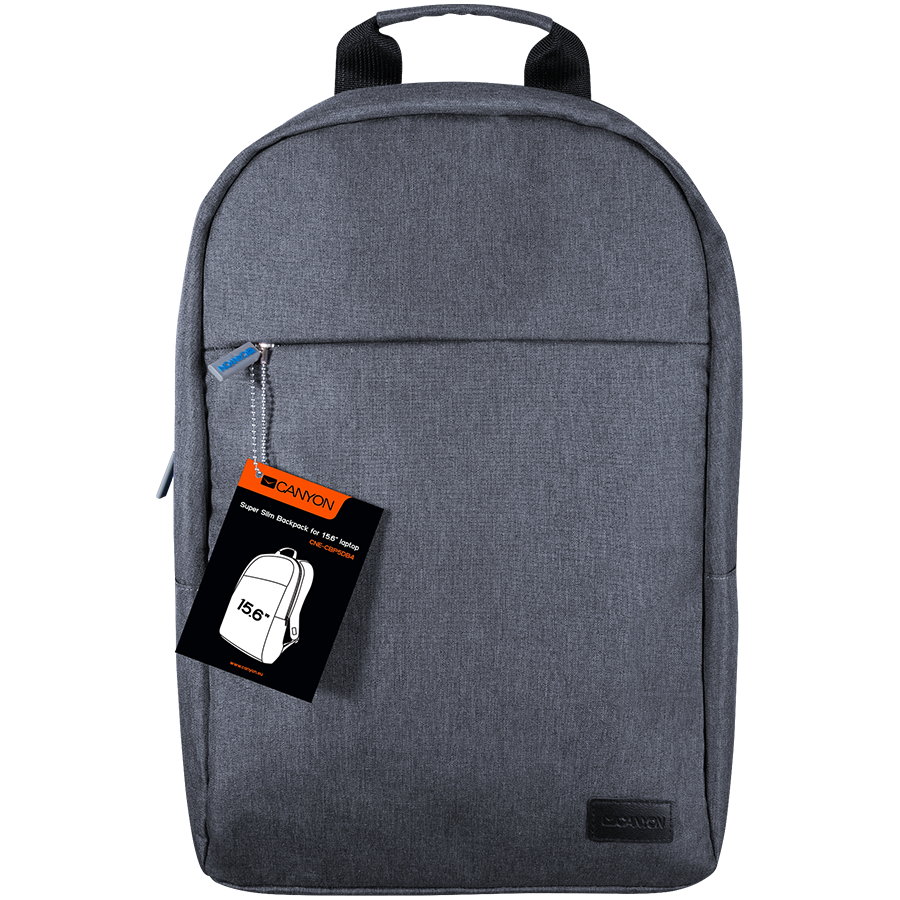 "Carrying Case CANYON CNE-CBP5DB4 CANYON Super Slim Minimalistic Backpack for 15.6"" laptops"
