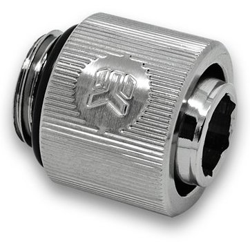Cooling System EKWB EKWB3831109846360 EK-ACF Fitting 10/13mm - Nickel (EK-DuraClear 9,5/12,7mm compatible)