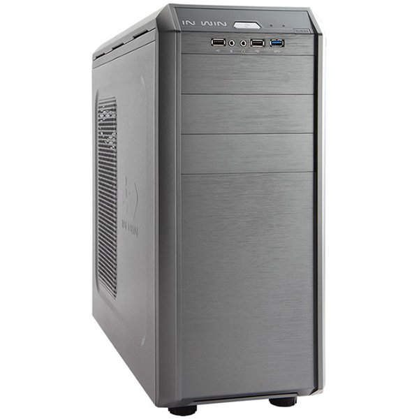 PC Chassis IN WIN G7-GREY Chassis In Win G7 Mid Tower, SECC, ATX, Micro-ATX, Front Ports	1xUSB 3.0 2xUSB 2.0 HD Audio, CPU die surface to side panel height: 160mm, 8x120mm FAN sup, Grey