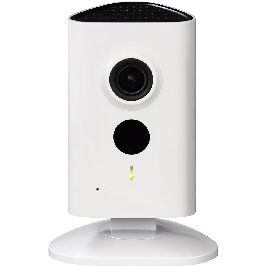 "IP Camera DAHUA ELECTRONIC IPC-C35 Dahua IP Wi-Fi camera 3MP C series, 1/3"" CMOS, 2304×1296 Effective Pixels (20fps), Focal Length 2.3mm, H264 dual stream, 0.9Lux/F2.2 (Color), 0Lux/F2.2 (IR on), IR distance up to 10 m, Micro SD card slot, up to 128GB, DC"