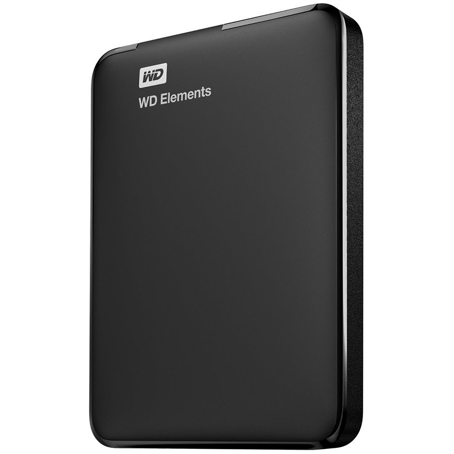 HDD External WESTERN DIGITAL WDBU6Y0020BBK-WESN HDD External WD Elements Portable (2TB, USB 3.0)